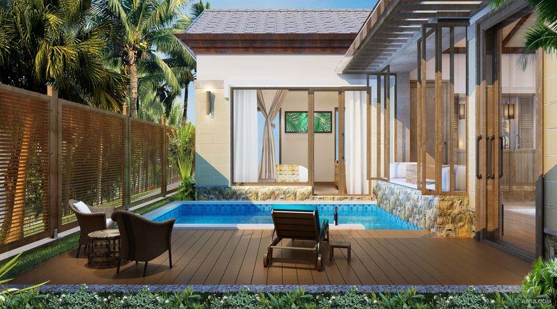 阳台户外泳池