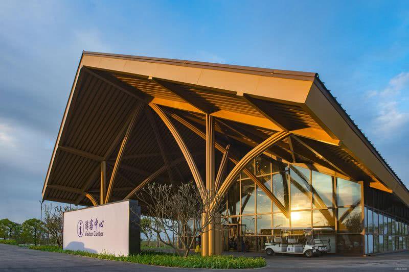 广西钦州海景规划展示中心外观
