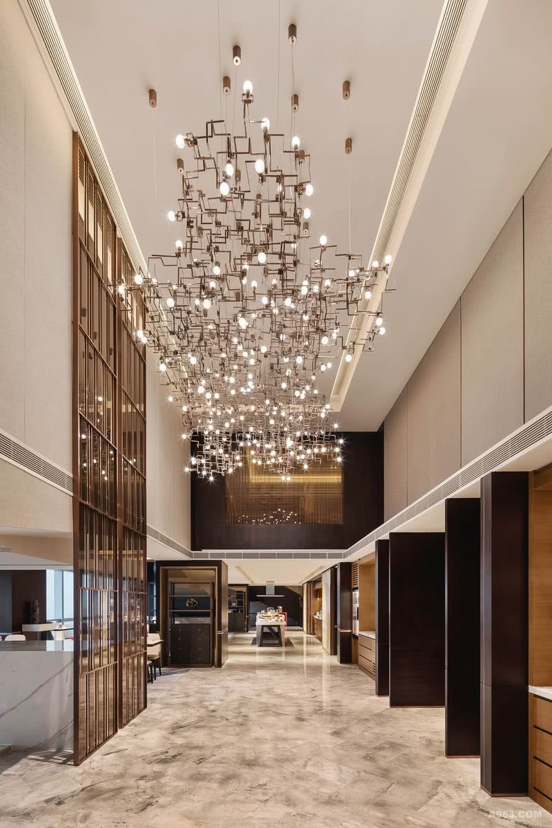 YANG杨邦胜设计集团 珠海洲际酒店_行政酒廊