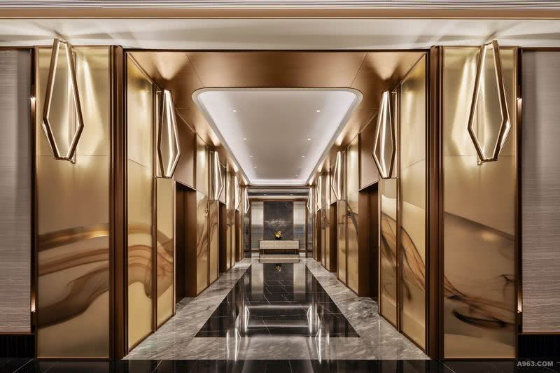 YANG杨邦胜设计集团 珠海洲际酒店_电梯厅