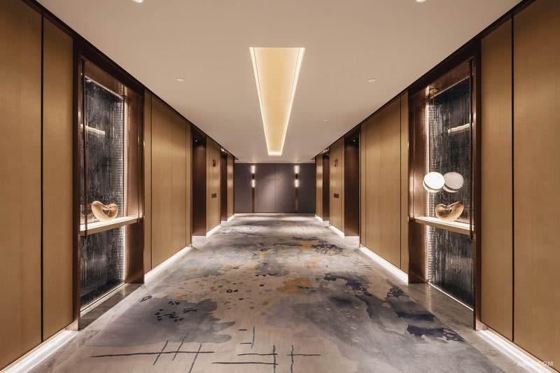 YANG杨邦胜设计集团 珠海洲际酒店_客房走廊