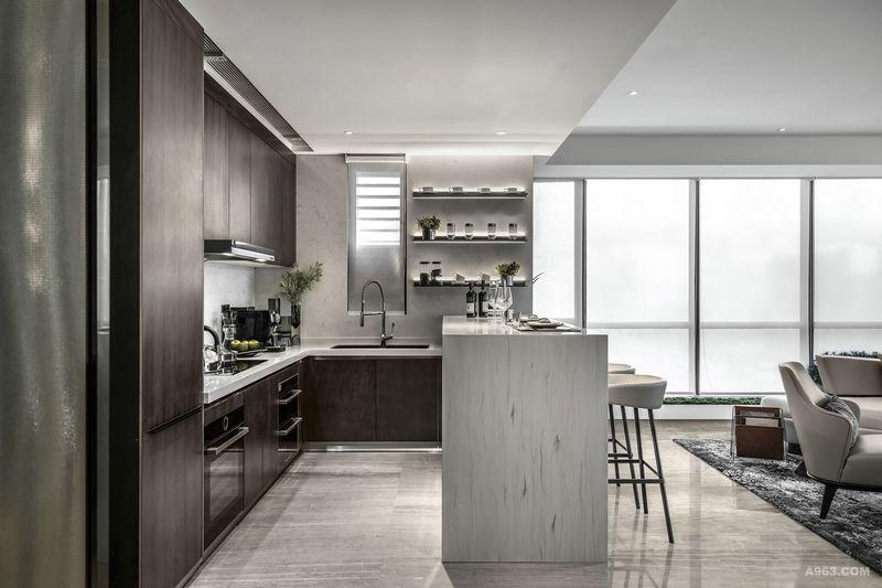 DHO国际设计样板房-厨房