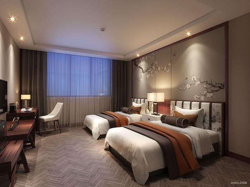 四川,巴中地区。新名门酒店