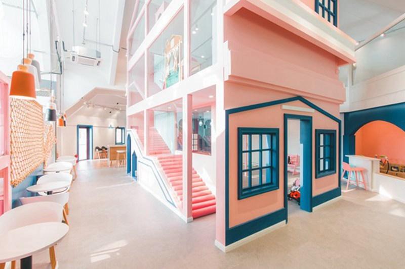 青岛亲子咖啡厅设计