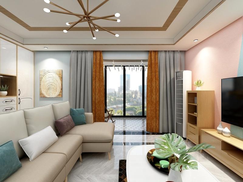 一个客厅的视角