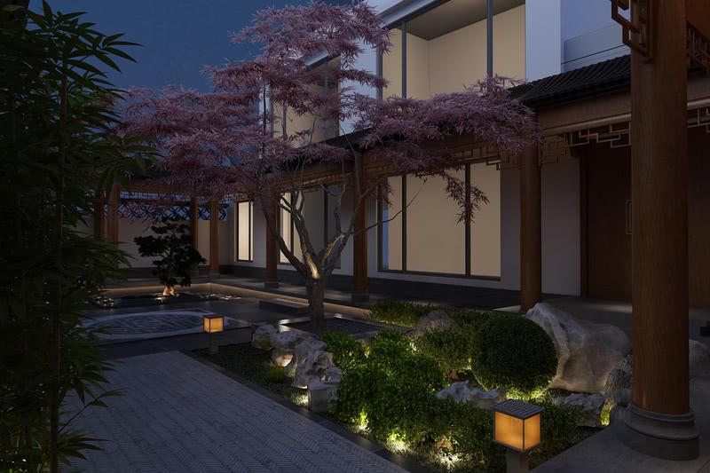 寻一处方院,看庭院四季不同的色彩