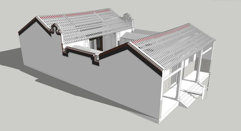 祠堂文化建筑设计