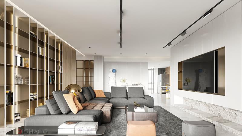 极简笔法勾勒空间的格调,考究的材料质地,高级的配色比例,将意境驻留于空间,交织出内蕴绵延,以回味无穷的从容与优雅,唤起居住者的共鸣。