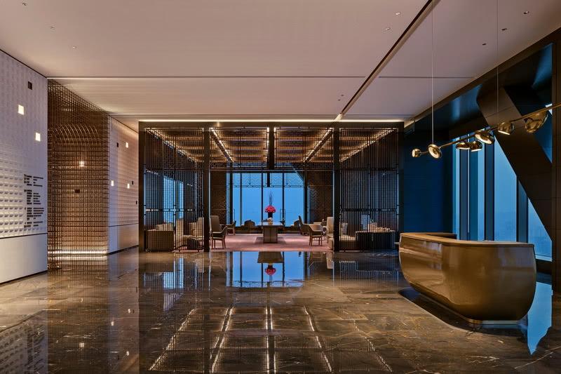 杨邦胜设计五星酒店设计作品_南京金鹰G酒店