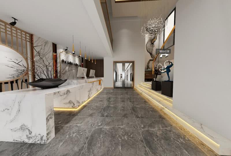 新中式风格将中式元素与现代材质巧妙兼柔,同时与明清家具、窗棂、布艺床品相互辉映,经典地再现了移步变景的精妙风格。