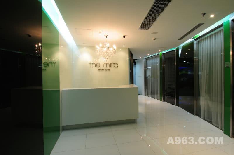 香港美丽华酒店工作区办公室