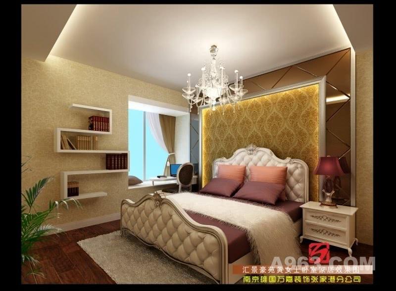 汇景豪苑卧室