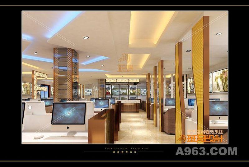 青伊湖网咖 现代时尚豪华 斑玛设计中心