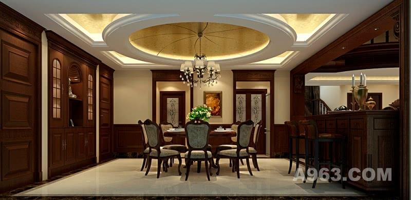 李天龙作品:兰溪谷古典欧式空中别墅豪宅设计