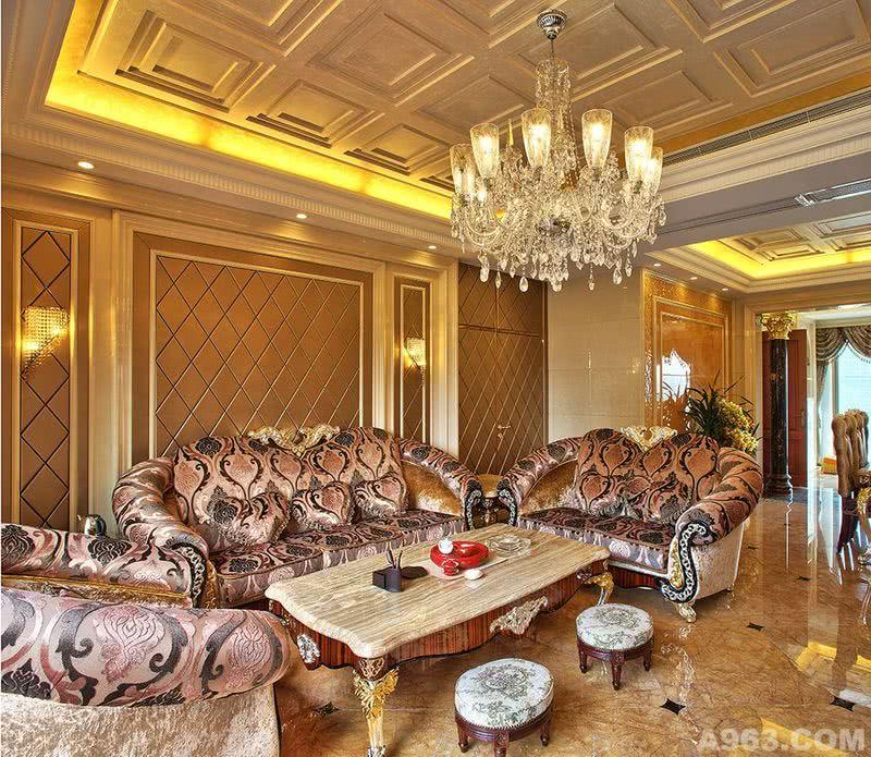 李天龙作品:深圳湾君汇新天新古典欧式奢华风格