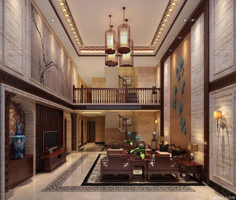 李天龙作品:华侨城燕晗山居新中式东方风格别墅设计