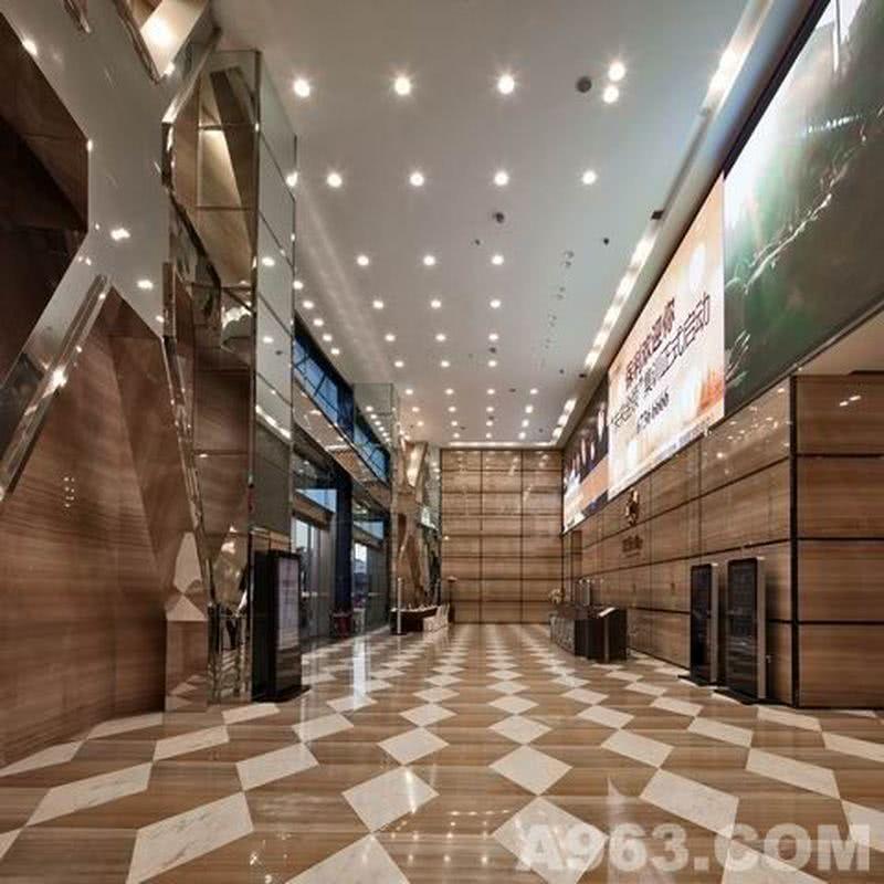 保利六合大厦,昆明,2013年完成。(Poly Liuhe Mansion, Kunming, Completed in 2013.)
