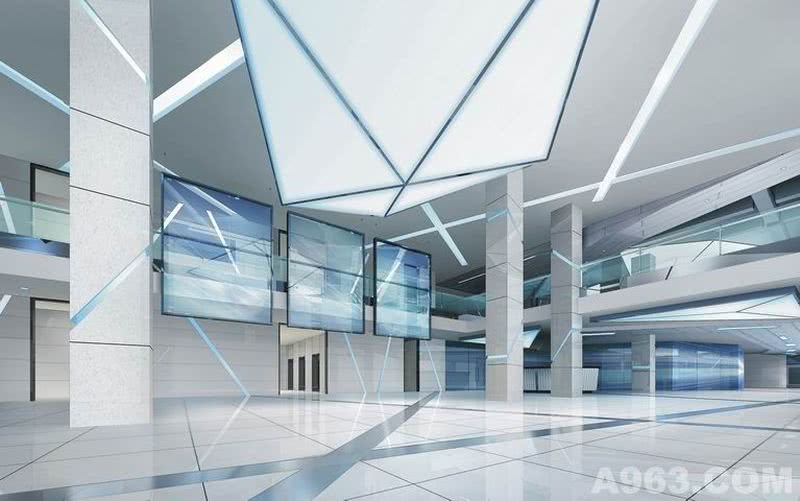 玉柴动力工程院基地大厦,南宁,2010年完成,对科技的一次立体解析。(Research Center of Yucai Engineering Institute, Nanning, Completed in 2010, A deep analysis of science.)