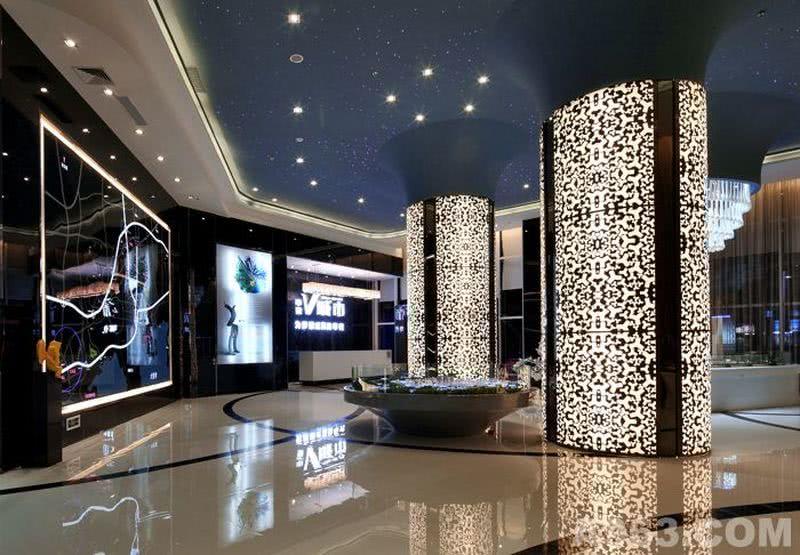 惠州中梁V城市售楼处设计