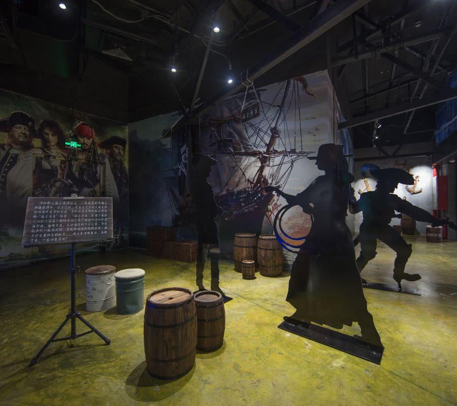 19 加勒比海盗主题场景